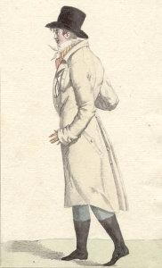 Mouvements de mode au XIXe siècle en France