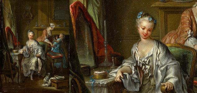 La toilette et la naissance de l intime le blog de la - Francois busnel sa femme ...