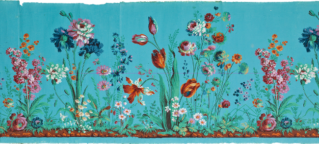 f2515817e3e Le Musée des Arts décoratifs de Paris propose une exposition intitulée  Faire le mur. Quatre siècles de papiers peints que je n ai pas encore vue  mais qui ...