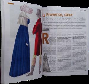Magazine Histoire - La Provence, mai et juin 2016, n4, pp. 108-109