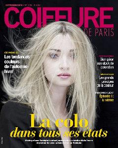 Coiffure de Paris, Première de Couverture, Octobre 2016