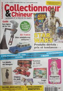 Collectionneur & Chineur, Premi�re de Couverture