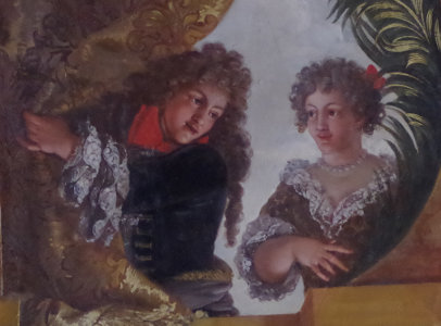 Cravate du 17e siècle