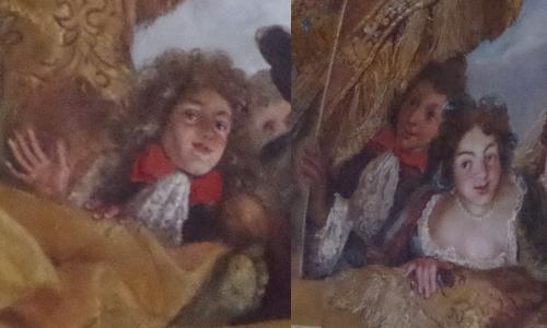 Cravates du XVIIe siècle à Versailles
