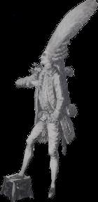 Baron du Caprice se rendant chez Mlle des Faveurs