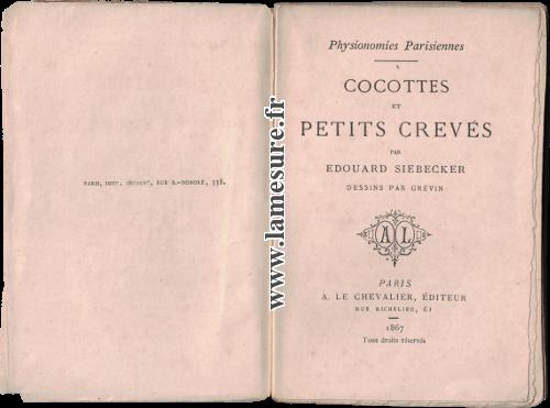 Cocottes et petits crevés