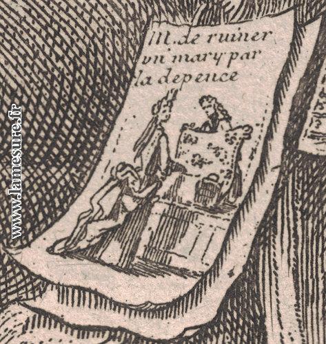 Caricature de mode XVIIe - XVIIIe siècles