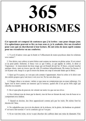365 aphorismes