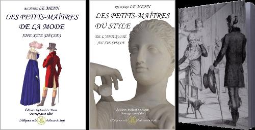 Livres sur les petits-maîtres de la mode et du style et les merveilleuses et les merveilleux